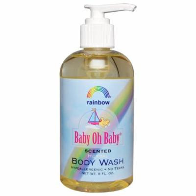 Rainbow Research, Baby Oh Baby, Herbal Body Wash, Scented, 8 fl oz(pack of 4)