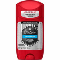 4 Pack - Old Spice Hardest Working Collection Odor Blocker Anti-Perspirant & Deodorant, Extra Fresh 2.60 oz