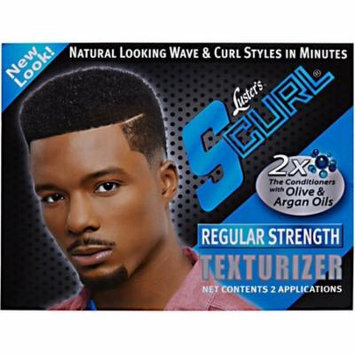 4 Pack - Luster's S-Curl Hair Texturizer Regular Kit 2 ea