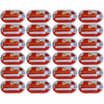 Polski Smak Wild Caught Mackerel Fillets in Tomato Sauce, 7.05 oz (24)