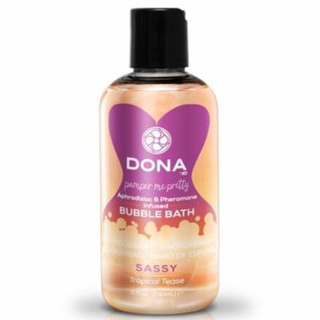 Dona Pamper Me Pretty Bubble Bath Sassy - Tropical Tease - 8 oz