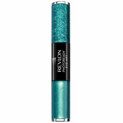 3 Pack - Revlon PhotoReady Eye Art Lid+Line+Lash, Green Glimmer 1 ea