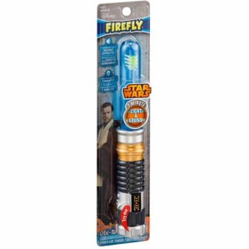 2 Pack - Firefly Star Wars Obi-Wan Kenobi Lightsaber Toothbrush, Soft 1 ea