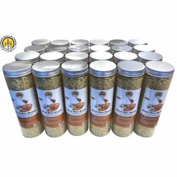 DevLon NorthWest Hard Wax Beans Hair Removal Pearl Beads Women Men Self Waxing Yellow Honey Scent 400g/Jar 24 Pack