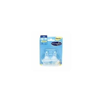Evenflo Classic Fast Flow Nipples 4.0 ea (pack of 4)