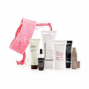 8 Piece Spa Skincare Gift Set : Clarins, Dr. Brandt, Ahava, Lancôme + More