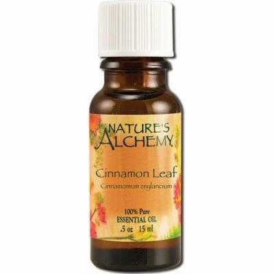 4 Pack - Nature's Alchemy Essential Oil, Cinnamon Leaf 0.5 oz