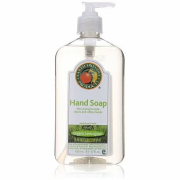 4 Pack - Earth Friendly Products Hand Soap, Lemongrass 17 oz