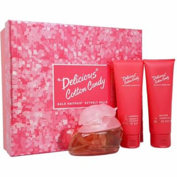 3 Pack - Gale Hayman Delicious Cotton Candy 3-Piece Gift Set for Women 1 ea