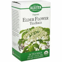 4 Pack - Alvita Elder Flower Tea Bags 24 ea