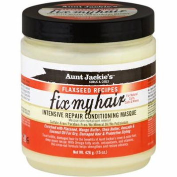 6 Pack - Aunt Jackie's Fix My Hair Intensive Repair Conditioning Masque 15 oz