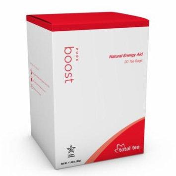 Total Tea Pure Boost Energy Tea | 20 Herbal Tea Bags | Natural Energy Aid
