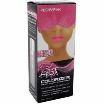 3 Pack - Splat Colorizer Color Toning Conditioner, Pushy Pink 6 oz