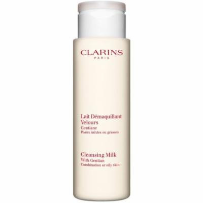 6 Pack - Clarins Cleansing Milk with Gentian For Combination or Oily Skin 7 oz