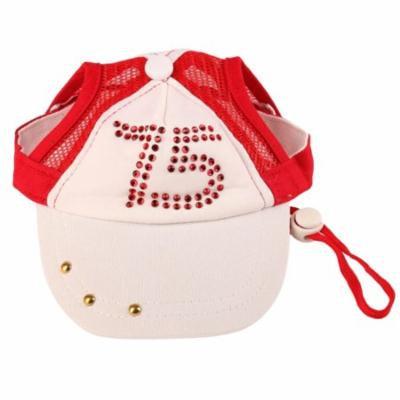 Dogs Hat, Legendog Cute Baseball Cap Visor Cap Sun Hats with Ear Holes for Pet Dogs Cat