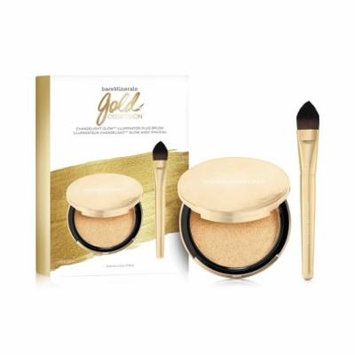 BARE MINERALS Gold Obsession Chandelight Glow Illuminator and Brush Set