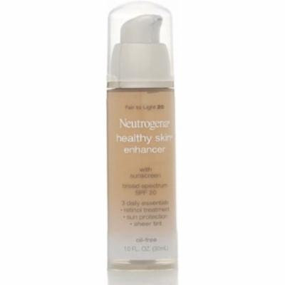 Neutrogena Healthy Skin Enhancer Tinted Moisturizer, Fair to Light [20], 1 oz