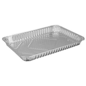 HFA 309HFA, 1/4-Size Aluminum Foil Baking Sheet Pans, Take Out Baking Disposable Foil Containers (50)