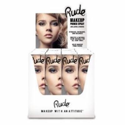 RUDE Make Up Primer Spray Paper Display Set, 12 Pieces