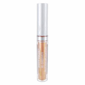 (6 Pack) CITY COLOR Hi-Shimmer Glitter Lip Topper - Rose Gold