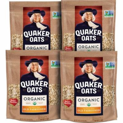 Quaker™ Oats Organic 100% Whole Grain Old Fashioned Oats 24 oz. Pouch