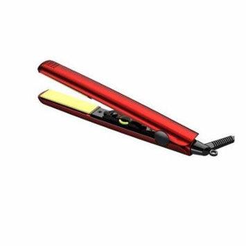 Flat Iron, Red 1-inch Girls Ceramic Hair Straightener Flat Iron For Women