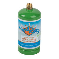 Flame King 1 lb. Refillable Propane Cylinder