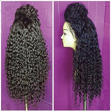 Lace Front Wigs For Black Women Synthetic Long Curly Wigs With Baby Hair Heat Resistant Front Lace Wigs