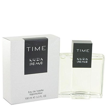 Krizia Time by Krizia Eau De Toilette Spray 3.4 oz for Men - 100% Authentic