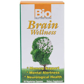 Bio Nutrition Inc Brain Wellness Vegetarian Capsules, 60 CT