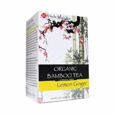 Organic Bamboo Tea Lemon Ginger 18 Bags by Uncle Lee's Tea