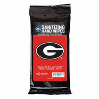 Worthy Promotional University Of Georgia Uga Logo Sanitizing Wipes