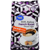 Ims International Marketing Sy Great Value French Roast Ground Coffee, Dark Roasted, 32 oz