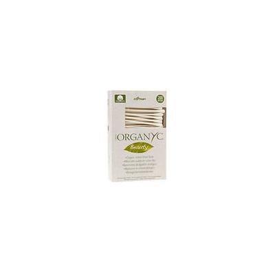 ORGANYC Organic Cotton Swabs 200.0 ea (pack of 12)