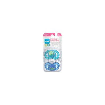 Duane Reade Crystal Orthodontic Soft Silicone Pacifiers 6+ Months Crystal Collection 2.0 ea (pack of 2)