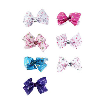 Luv Her 7 Day Bow-a-Day Hair Accessory Set with Bow Holder and Storage