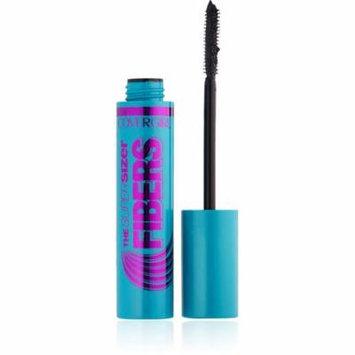 6 Pack - CoverGirl The Super Sizer Fibers Mascara, Black 0.35 oz
