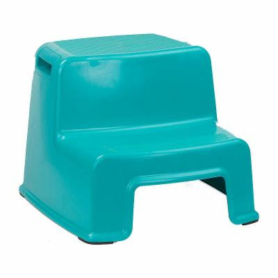 Home Basics 2 Tier Step Stool with Rubber Top