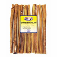 Shadow River 10 Pack 12 Inch Monster All Natural Premium Beef Bully Sticks For Dogs