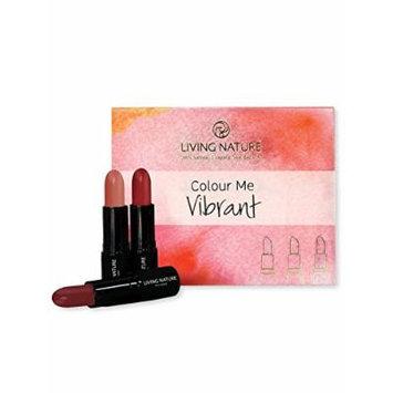 Living Nature Lipstick Pack - Color Me Vibrant