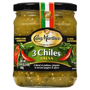 Casa Martinez 3 Chiles Salsa
