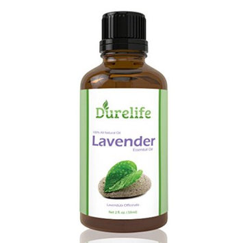 DureLife LAVENDER OIL 2 Oz With A Euro Dropper Included