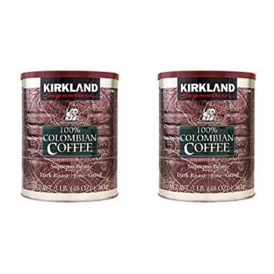 Kirkland Signature 100% Colombian Coffee, 3 Pound (6 LB)