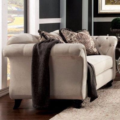 Benzara Stylish Love Seat By Antoinette