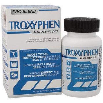 truDERMA - Troxyphen 60 caps Testosterone Support