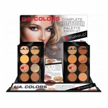 L.A. COLORS I Heart Makeup Contour Palette Display Set 18 Pieces