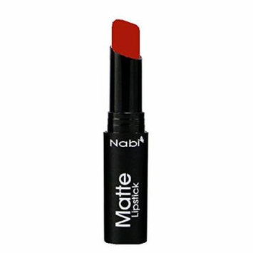 (6 Pack) Nabi Cosmetics Matte Lipstick Matte Real Red