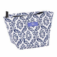 SCOUT Crown Jewels Cosmetic, Makeup & Small Accessory Bag, Water Resistant, Zips Closed, The Blue Hour