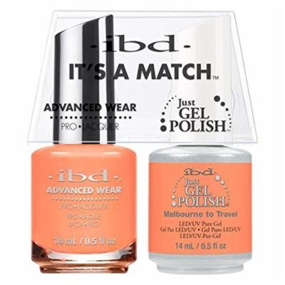 ibd - It's A Match -Duo Pack- Destination Collection - Melbourne to Travel - 14 mL / 0.5 oz Each