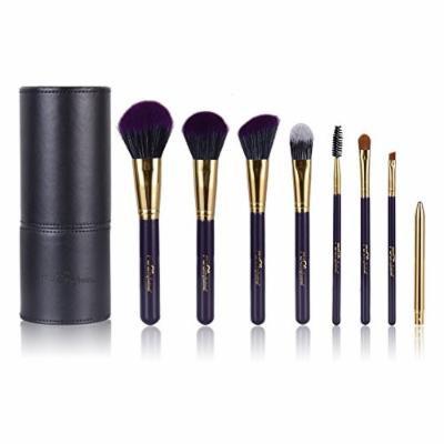 Elite99 Makeup Brushes Foundation Brush, Elite99 Make Up Brush Set Brushes Nice - Purple